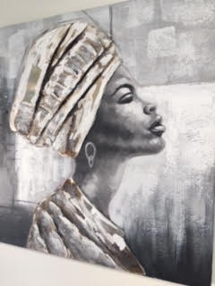 Artwork - African Lady